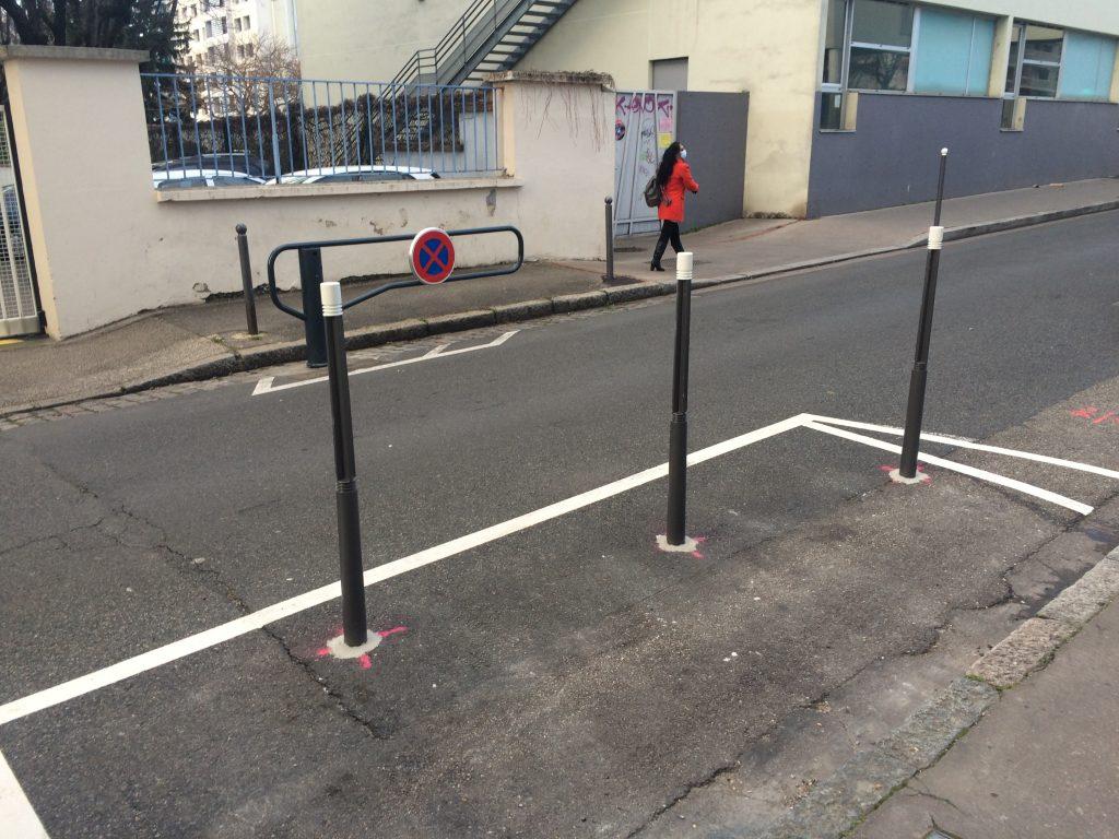 Rue de l'Harmonie, nouvelles barrières