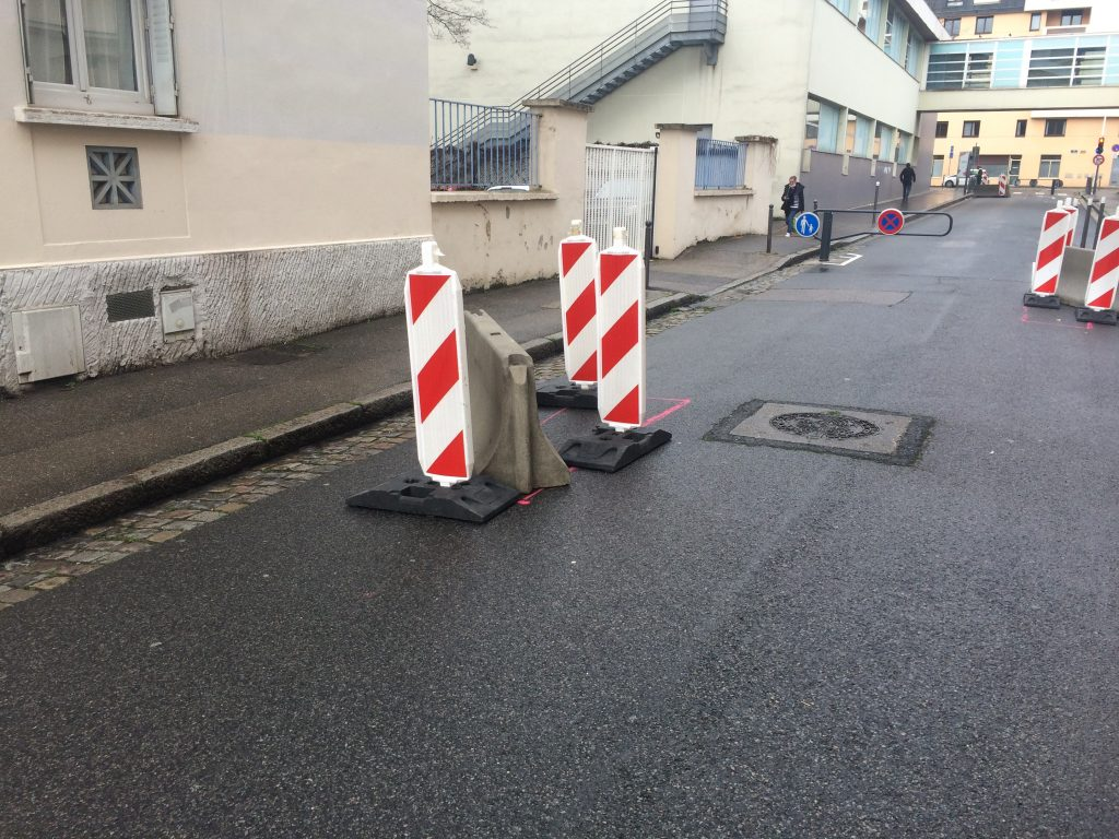 Rue de l'Harmonie, un chantier permanent